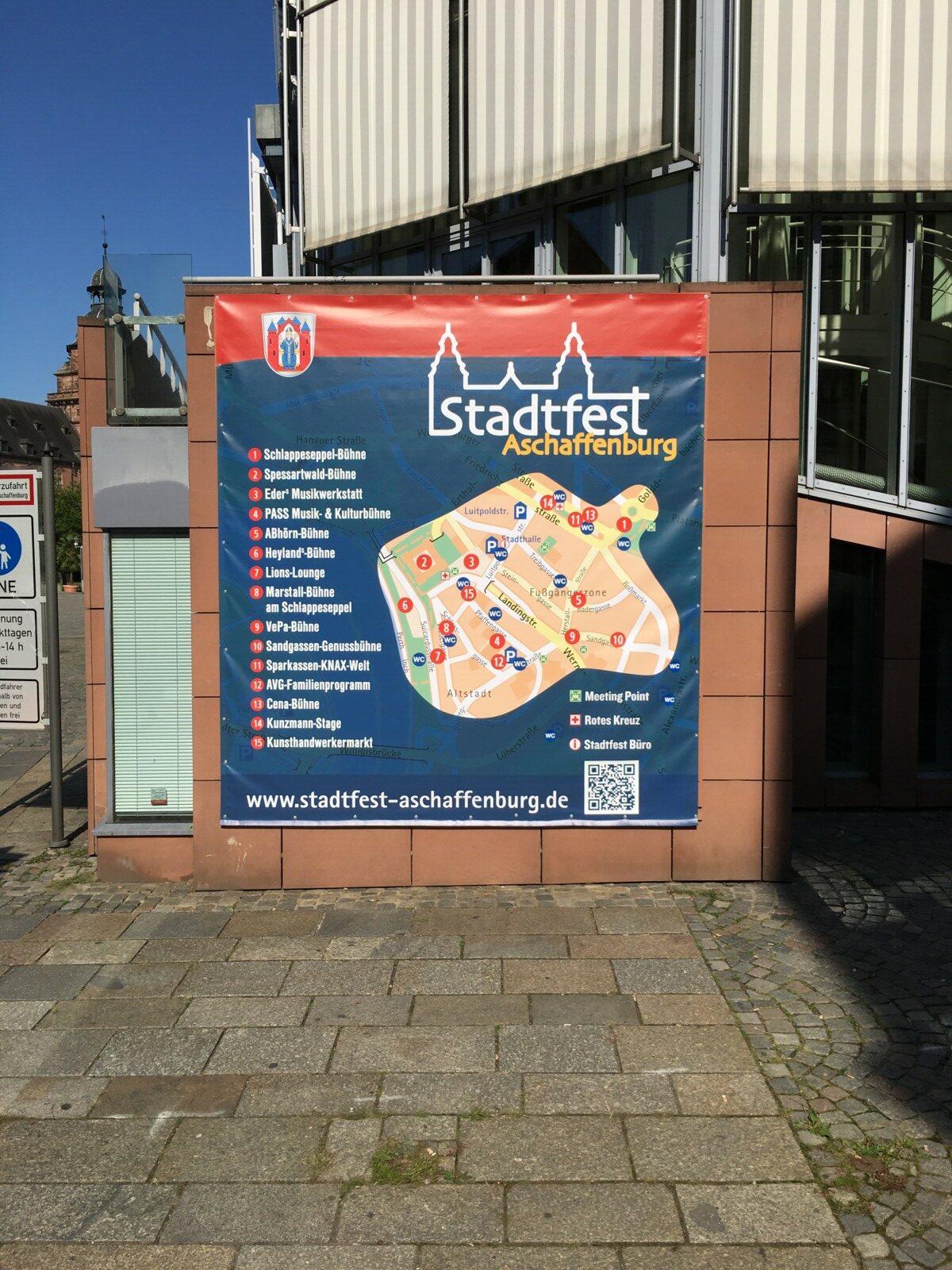 Werbetechnik Banner Spanntransparent