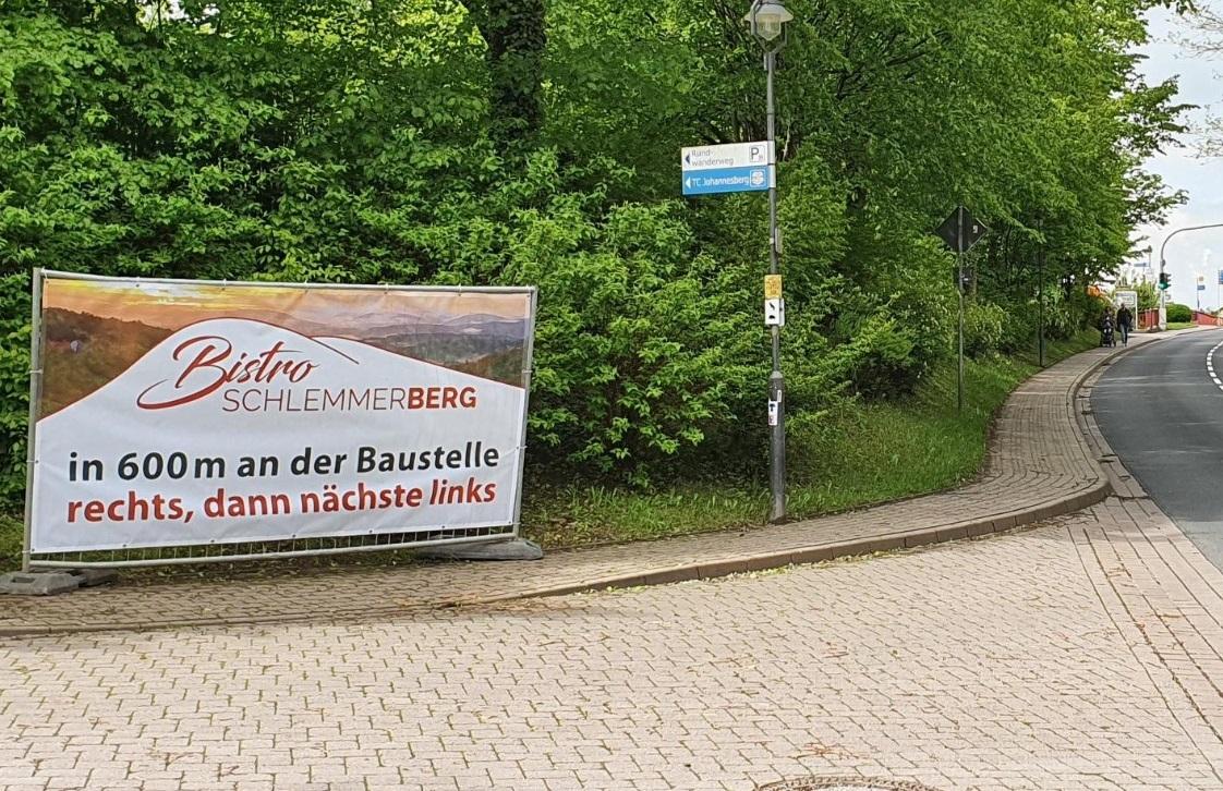 Werbetechnik Bauzaunbanner
