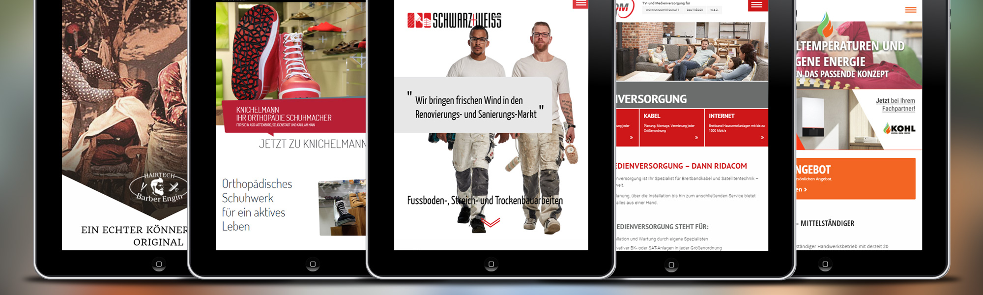 Webdesign Aschaffenburg Werbe3eck Staufenbiel