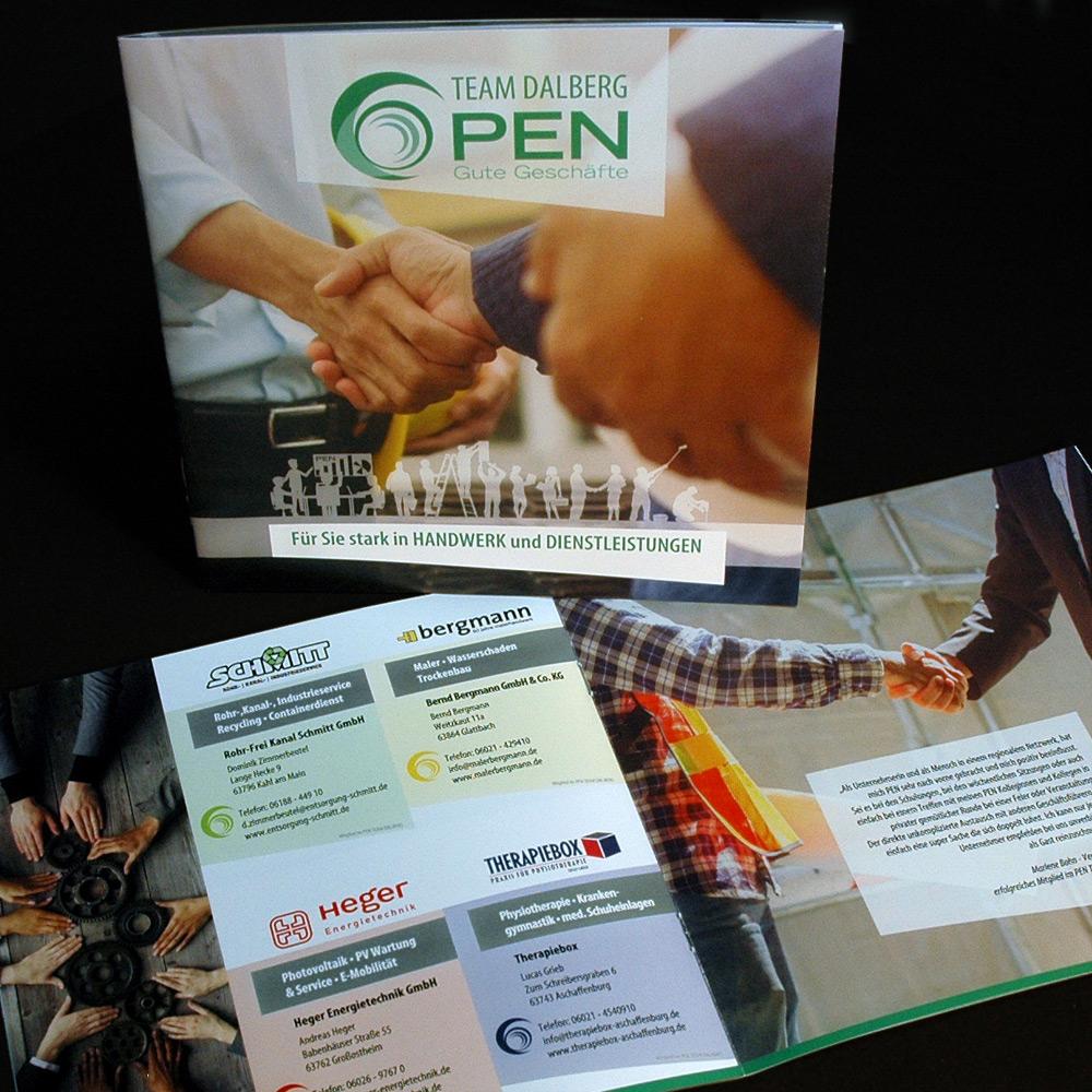 PEN Flyer Grafikdesign