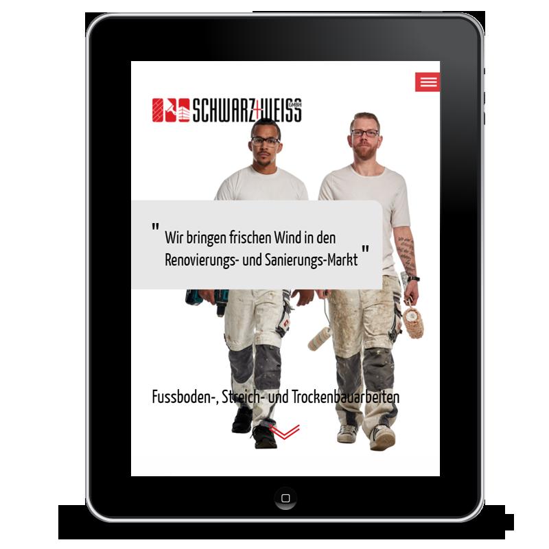 Website Schwarz und Weiß GmbH